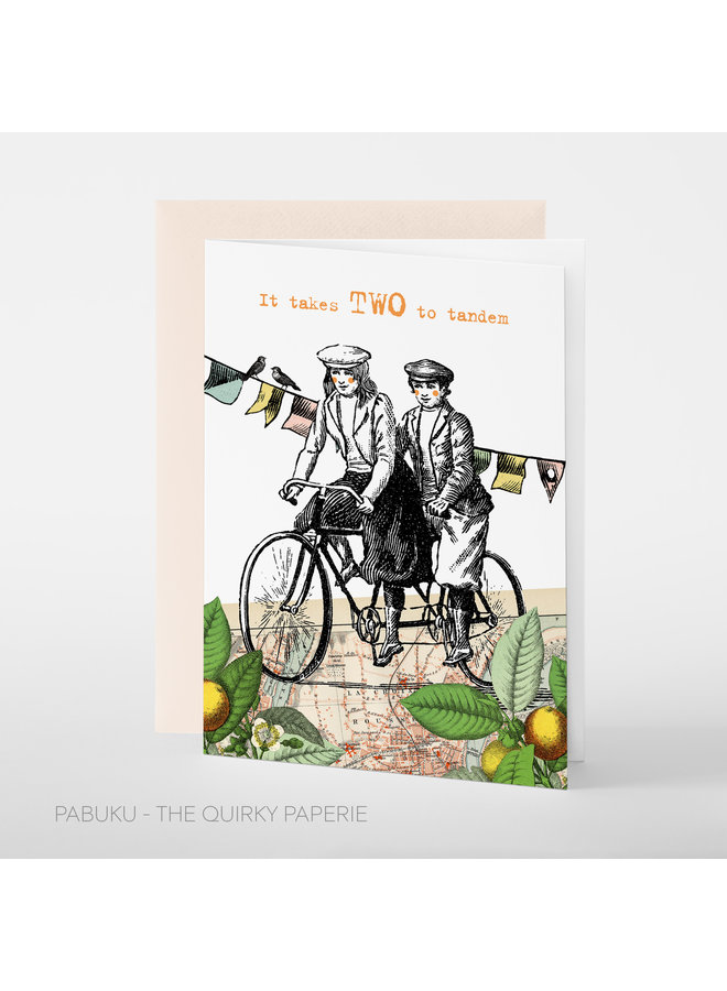 Two to Tandem, Women  card
