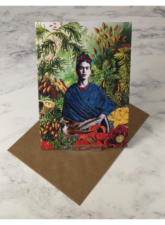 Dreaming of Frida Vintage Glitter Card 17