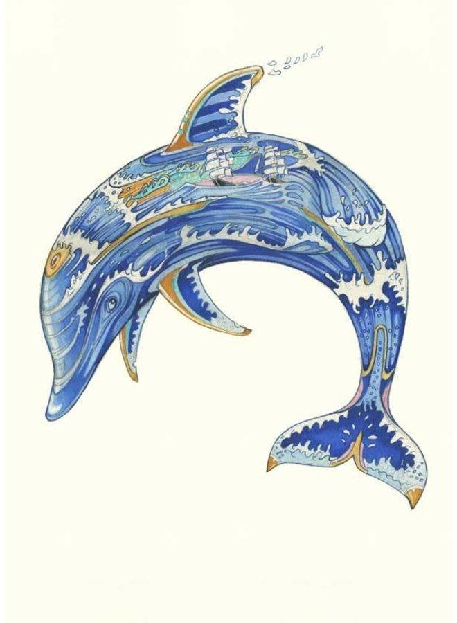 Dolphin Card