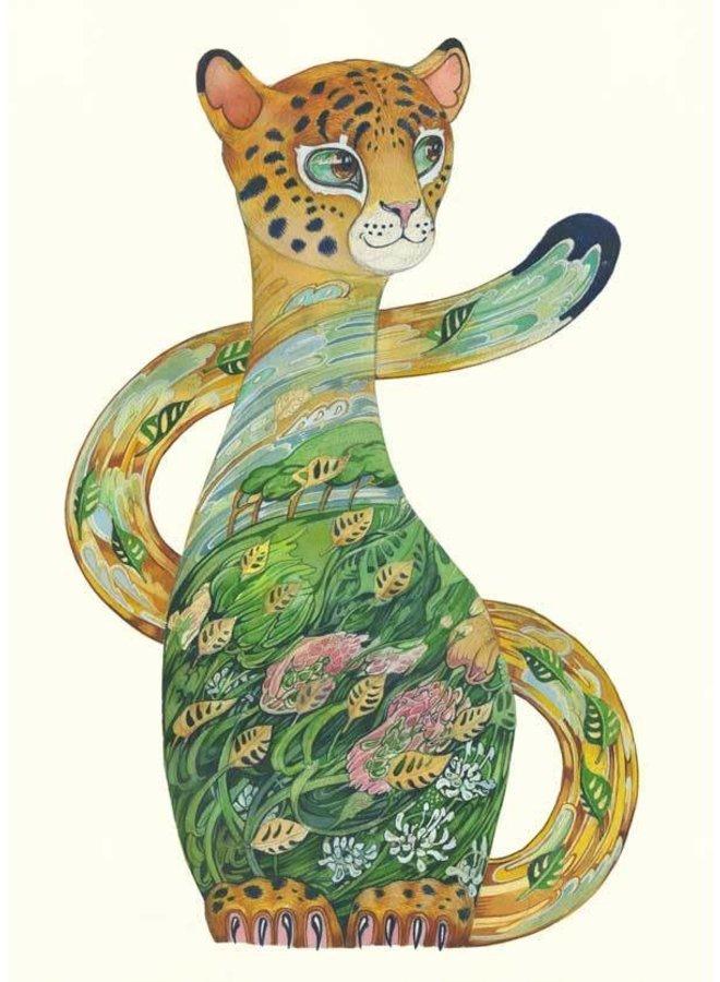 Jaguar Cub Card