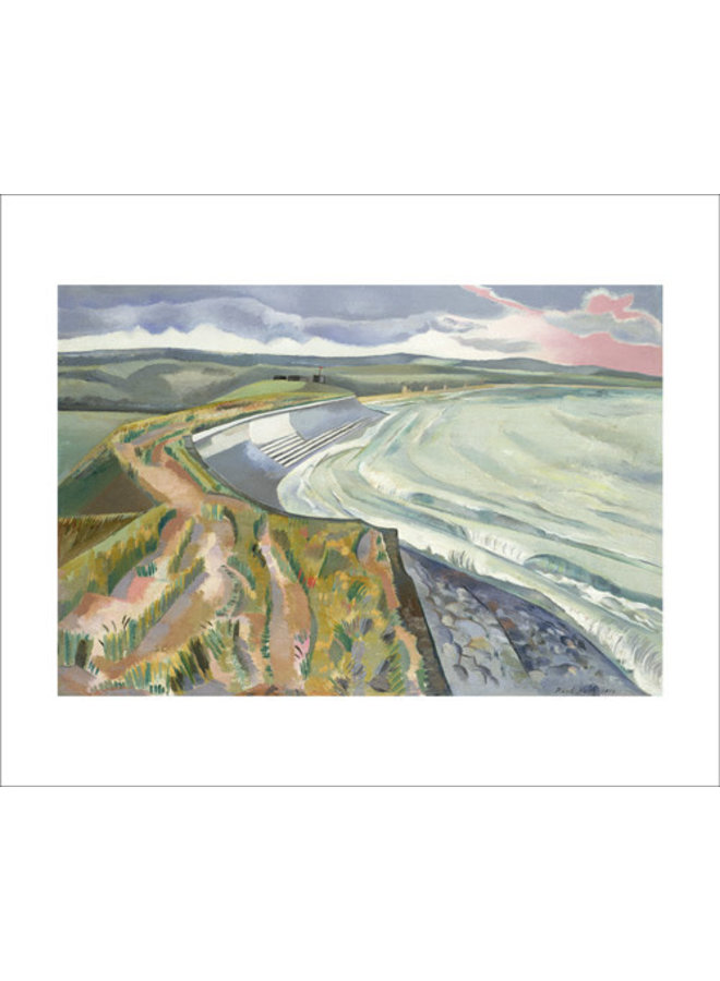 Wall Against the Sea by Paul Nash