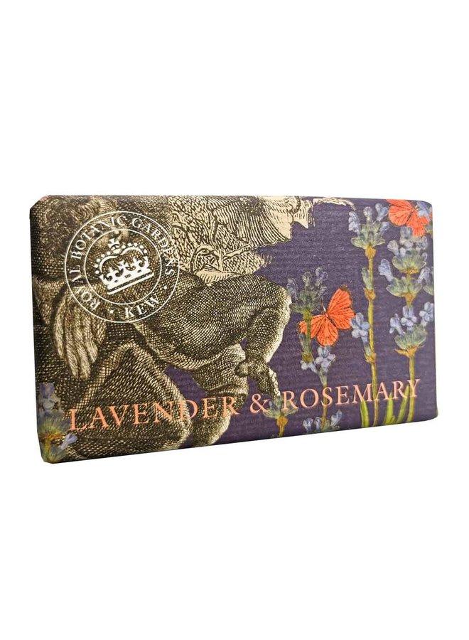 Kew Gardens Lavendel & Rosmarin 240g Seife