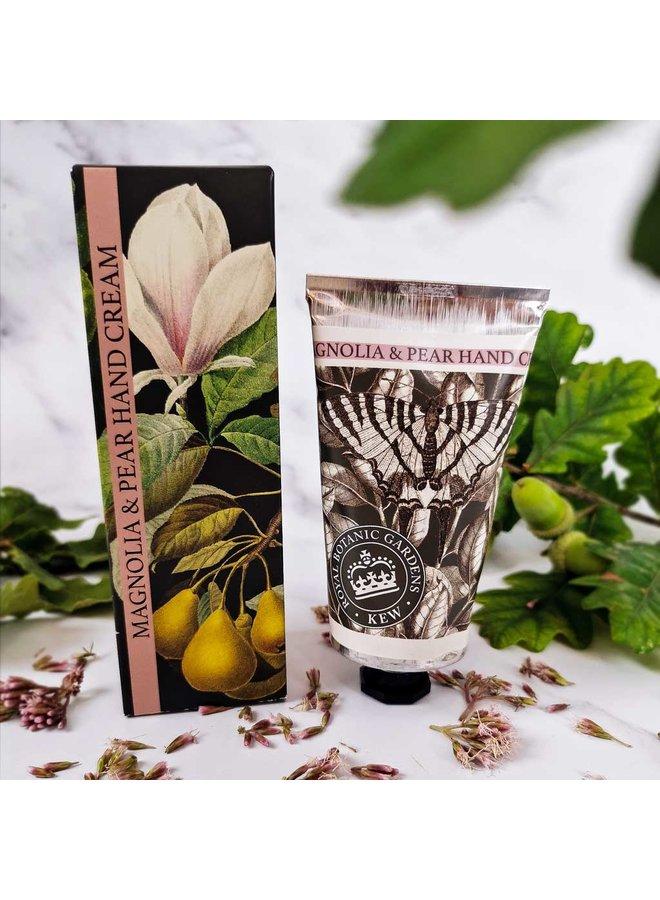 Kew Gardens Magnolien & Birnen Handcreme