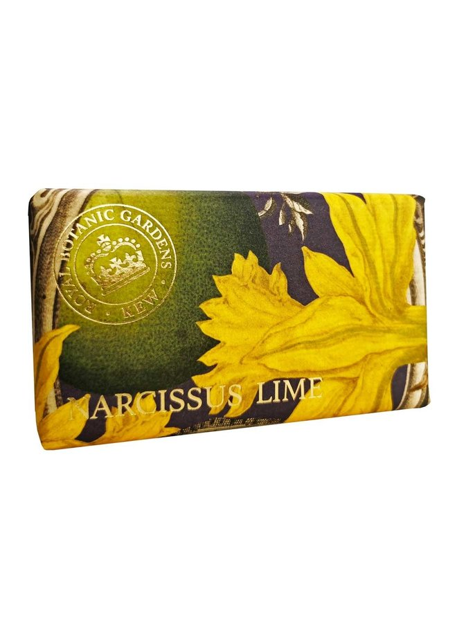 Kew Gardens Narcissus & Lime 240g Seife