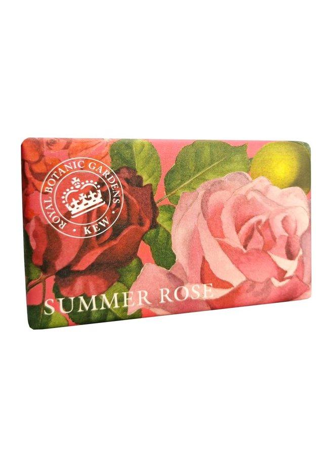 Kew Gardens Summer Rose 240 g Seife