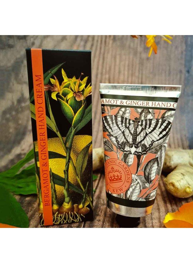 Kew Gardens Bergamotte & Ingwer Handcreme