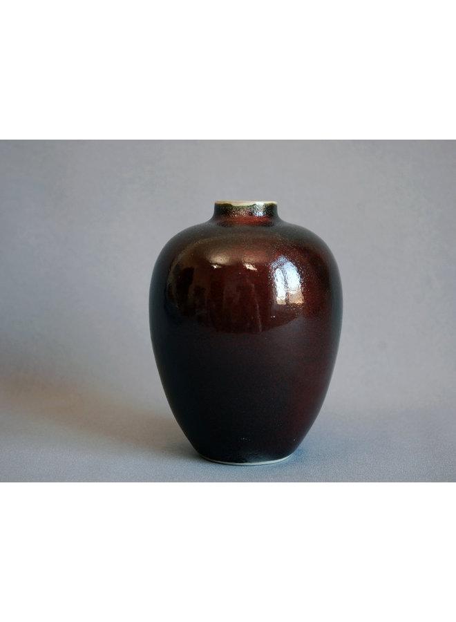 Flasche mit Oribe-Glasur