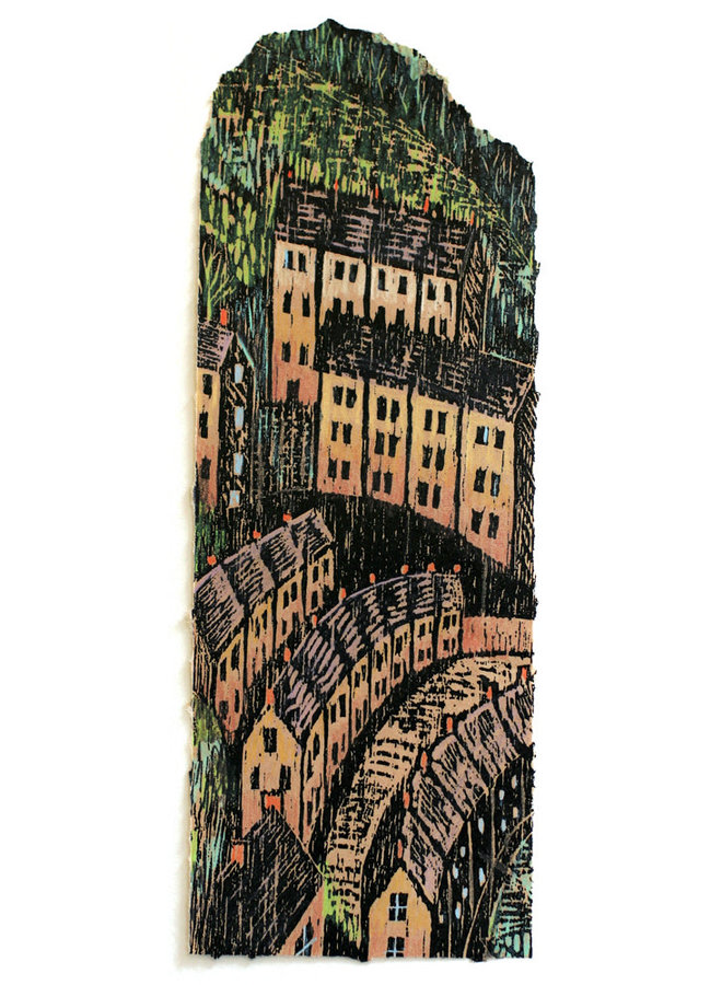 Stadthäuser Holzschnitt 44 von 75