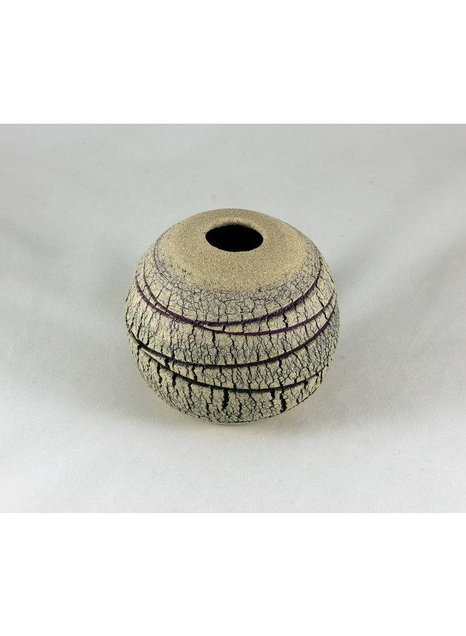 Geäderte Kalksteinkugel 4