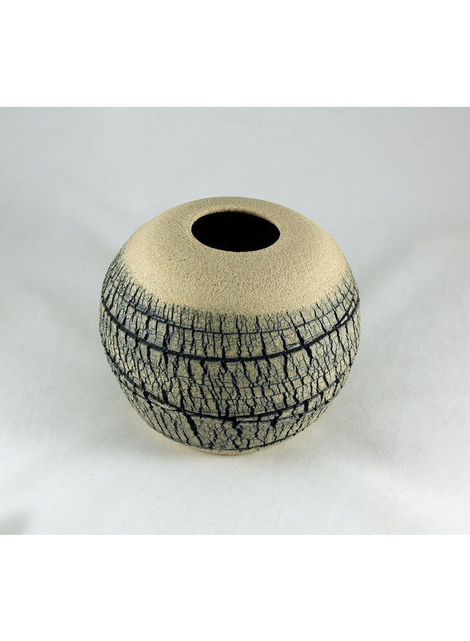 Geäderte Kalksteinkugel 3