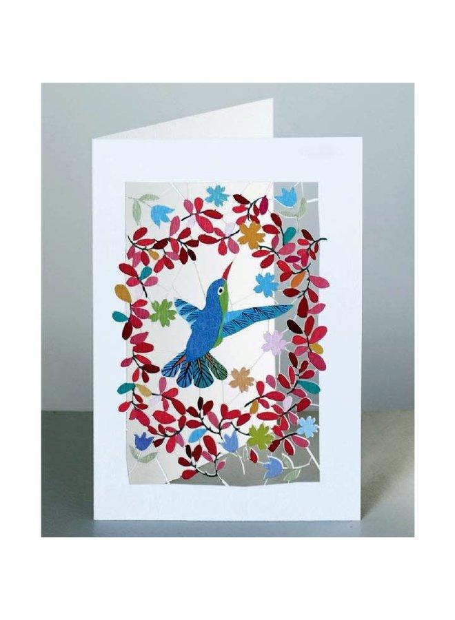 Hummingbird  Laser Card Blank