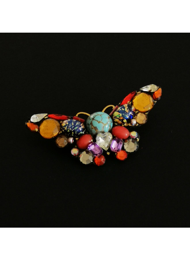 Butterfly Multicolour Large Brosche 224