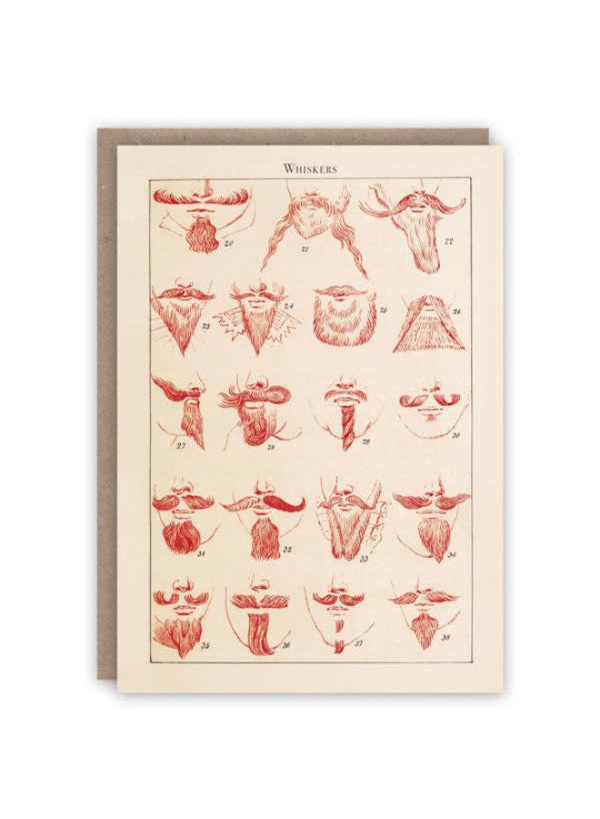 Whiskers Musterbuchkarte