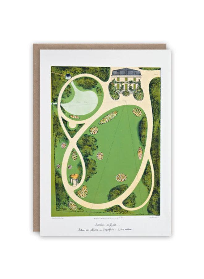 Jardin Anglais Musterbuchkarte