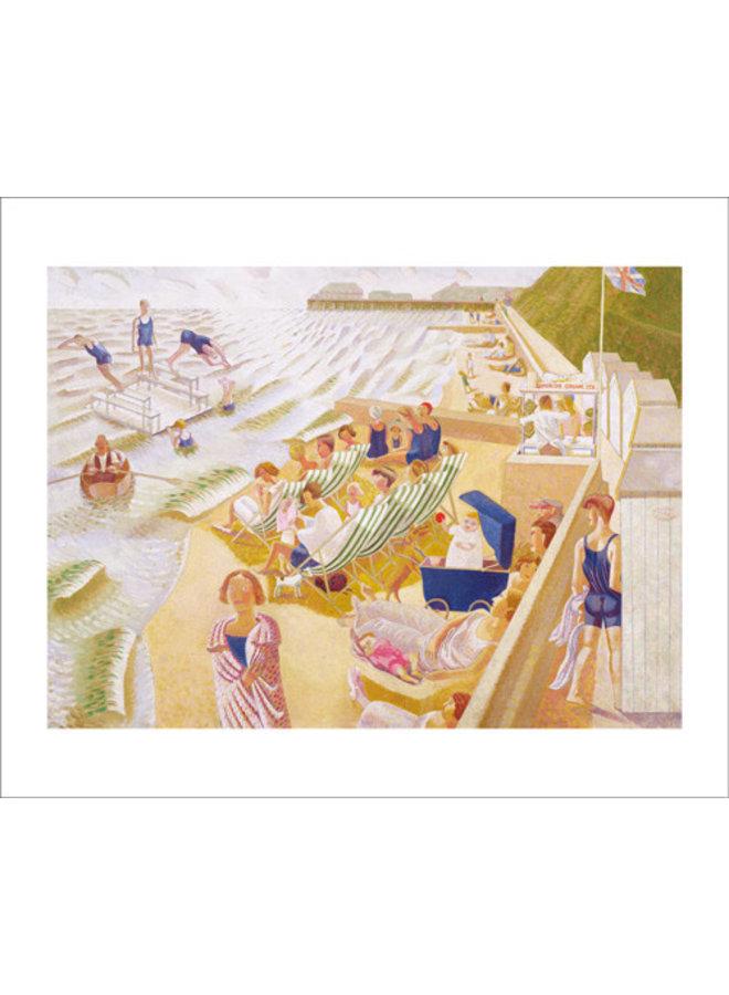 By the Sea Card by Edward Bawden