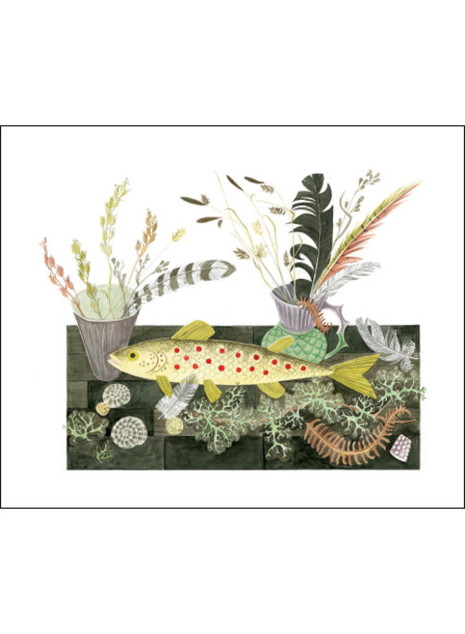 Emily's Fish Card by Angie Lewin