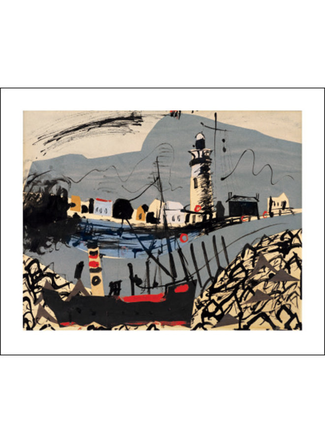 Newhaven 1936 Card by John Piper