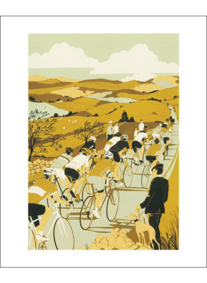 Tour de Yorkshire Card by Eliza Southwood