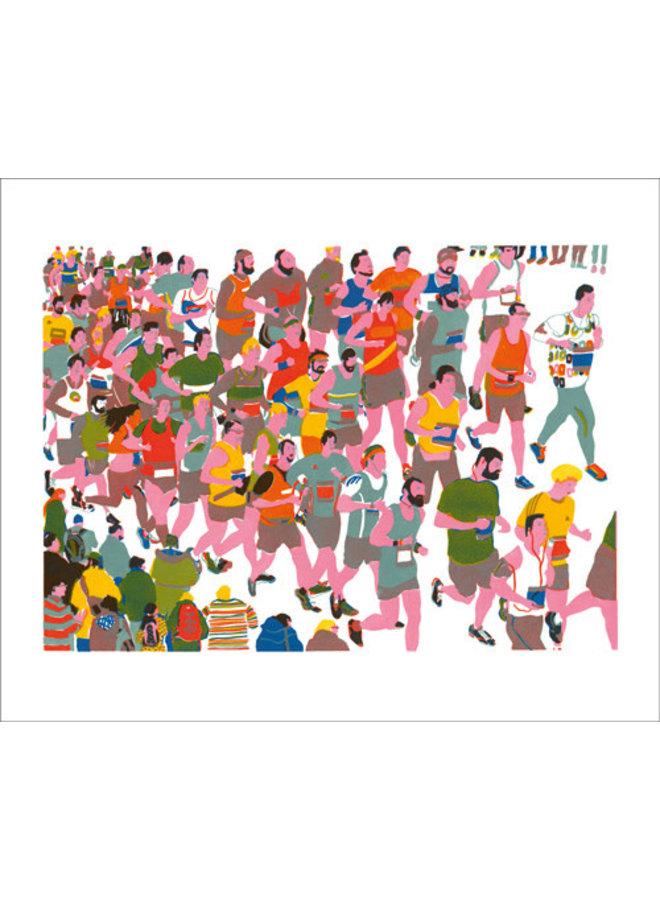 Marathon Card by Hannah Forward