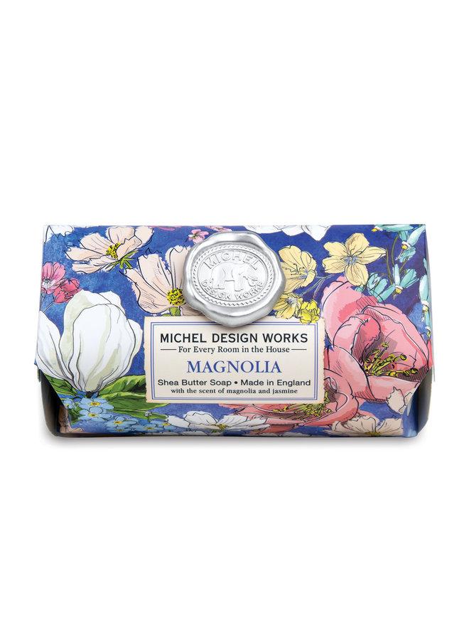 Magnolia  Bath Shea  Soap Bar