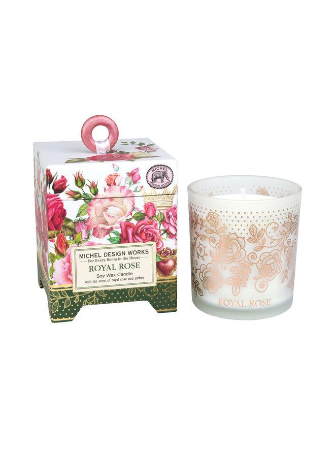 Royal Rose 6.5 oz. Soy Wax Candle
