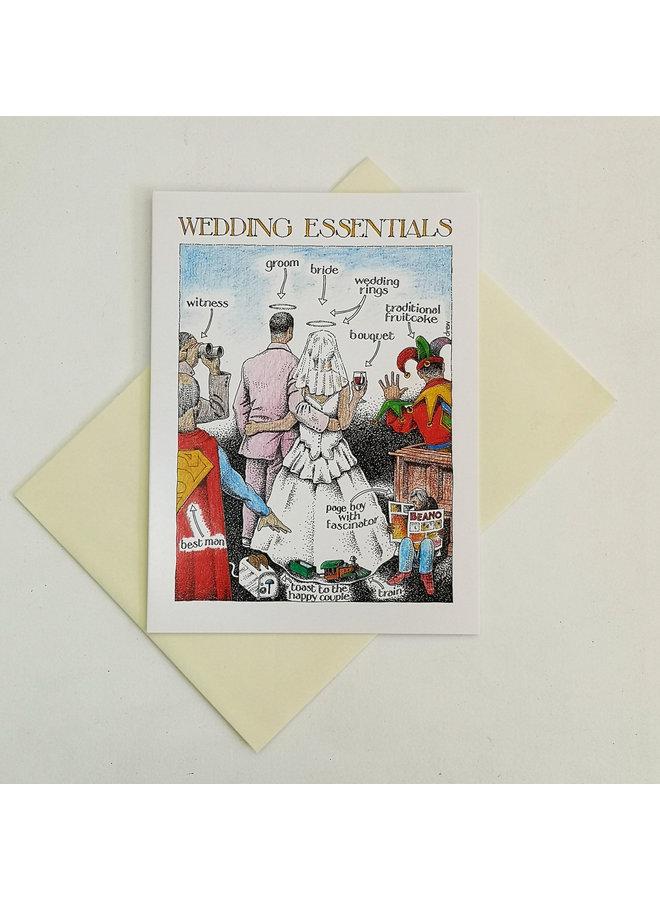 Wedding Essentials card