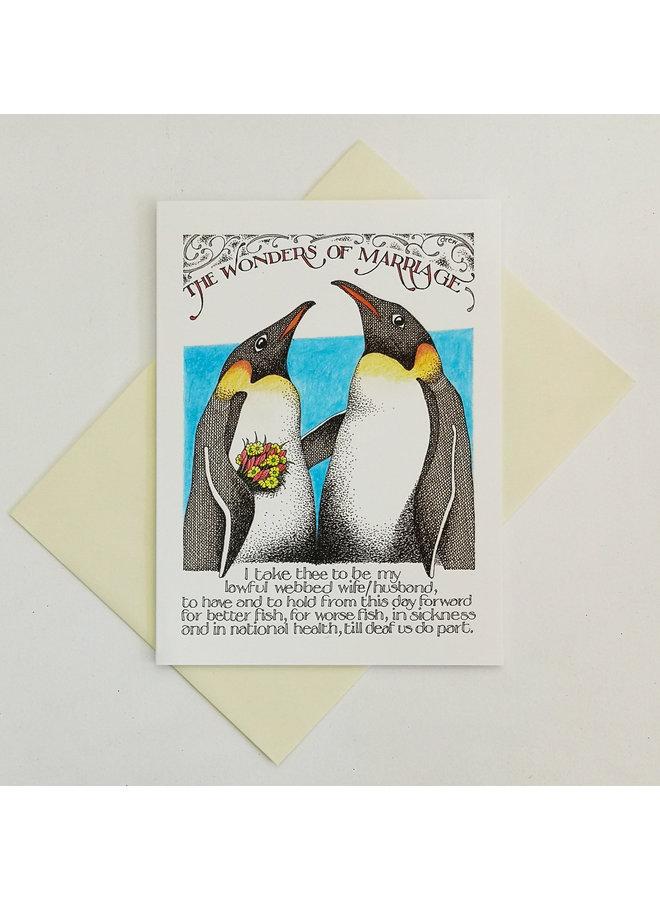Wonders of Marriage card 807