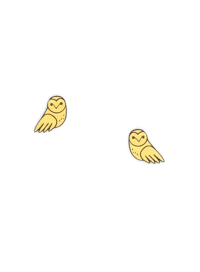 Baby Owls Stud Earrings  040