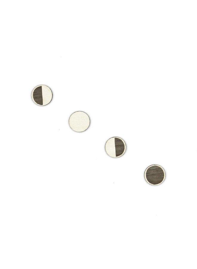 Mondphasen Stud Earings 054