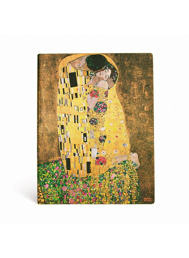 Klimt The Kiss Journal Midi  Unlined