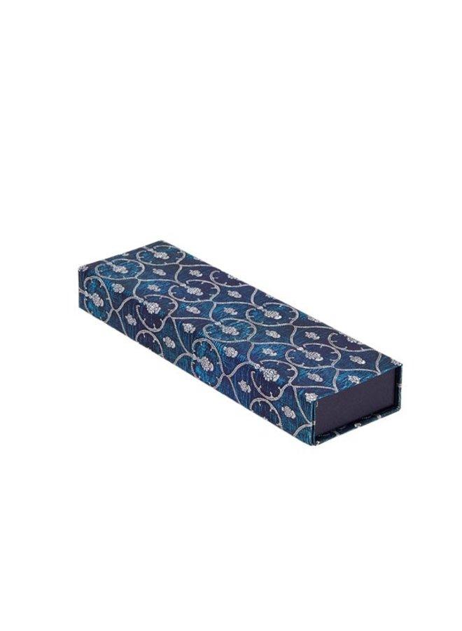Pencil Case Blue Velvet