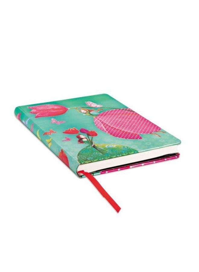 Joyous Springtime Journal Midi Lined