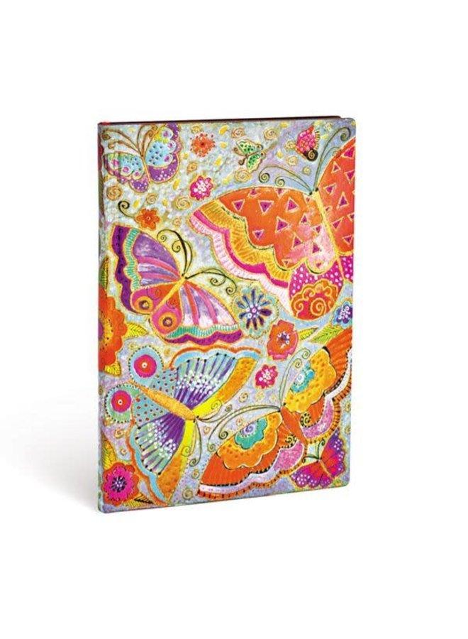 Flutterbyes Journal Midi Flexi Cover