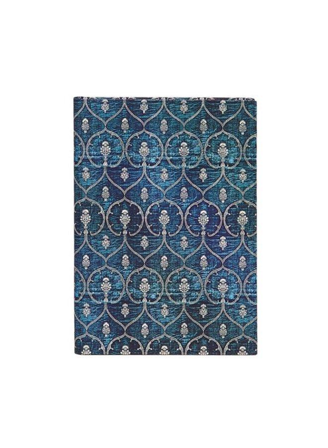 Blue Velvet Journal Midi Hardback Lined