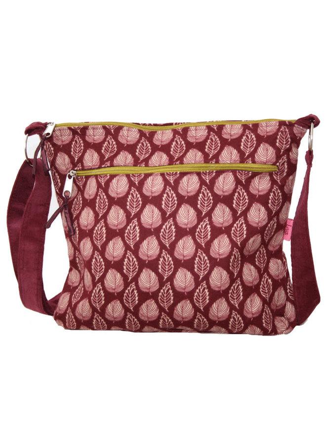Russett  Leaf - Messenger Bag Large