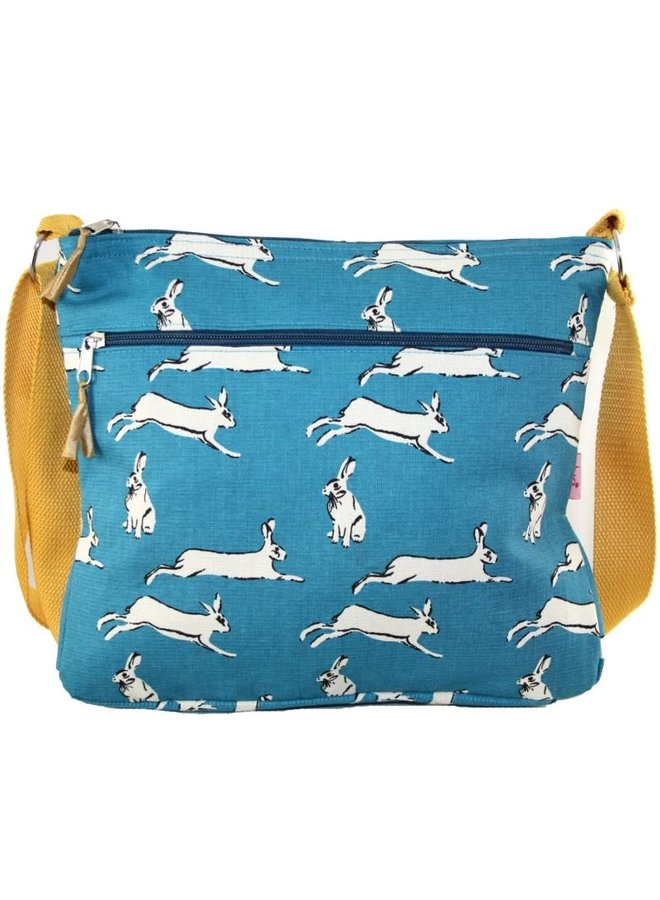Umhängetasche Hares Turquoise 450