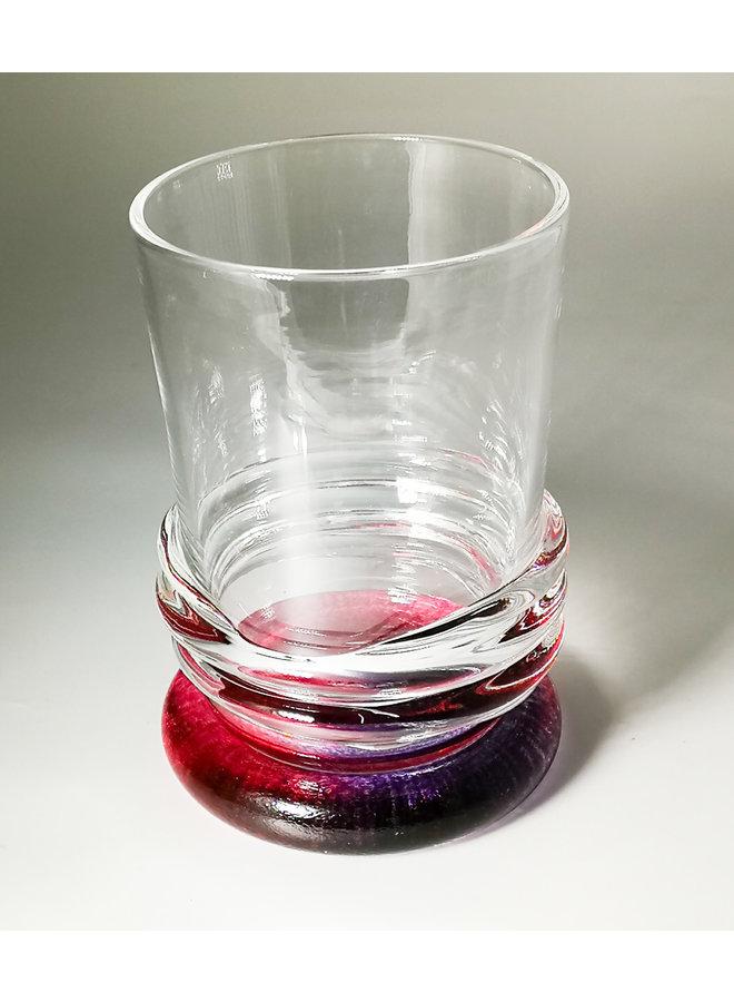 Ripple Rainbow Tumbler Rot und Violett 46
