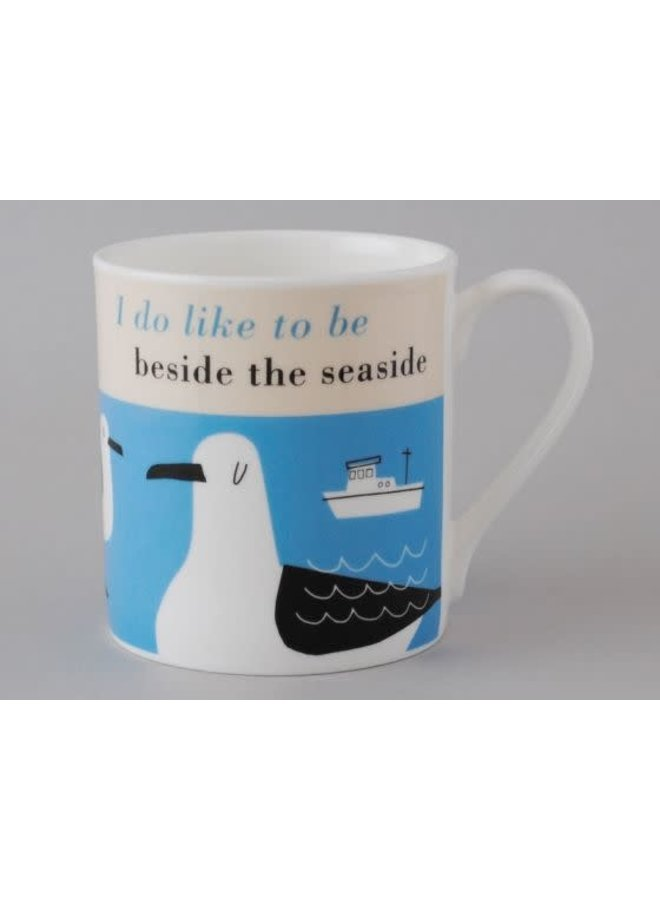 Glück Seaside Turquoise Large Mug 163