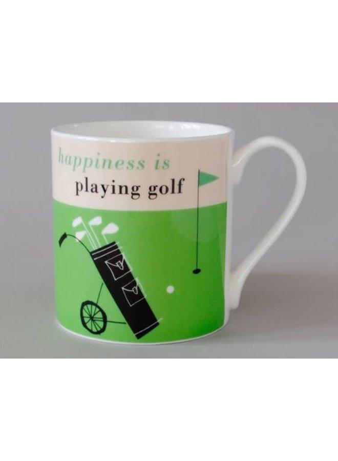 Glück Golf Olive Large Green Mug 165
