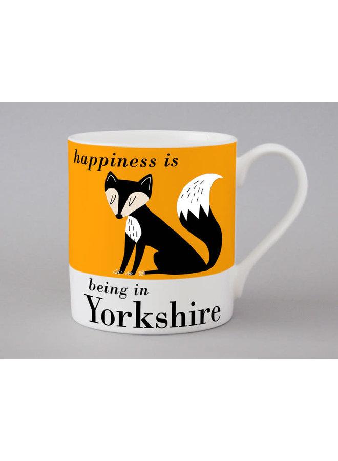Fox Yorkshire Happiness Orange Großer Becher 177