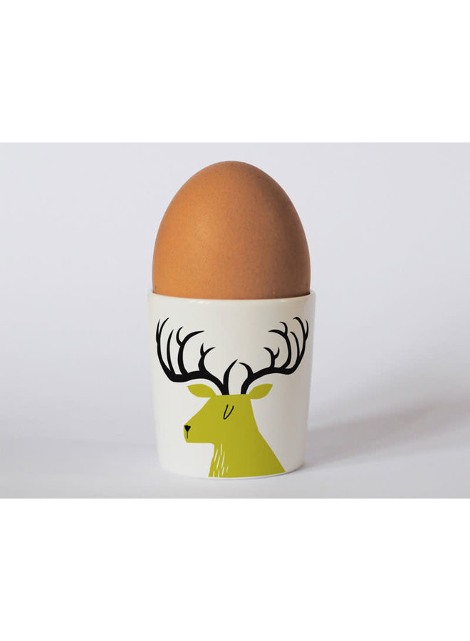 Countryside Stag Green eggcup 193