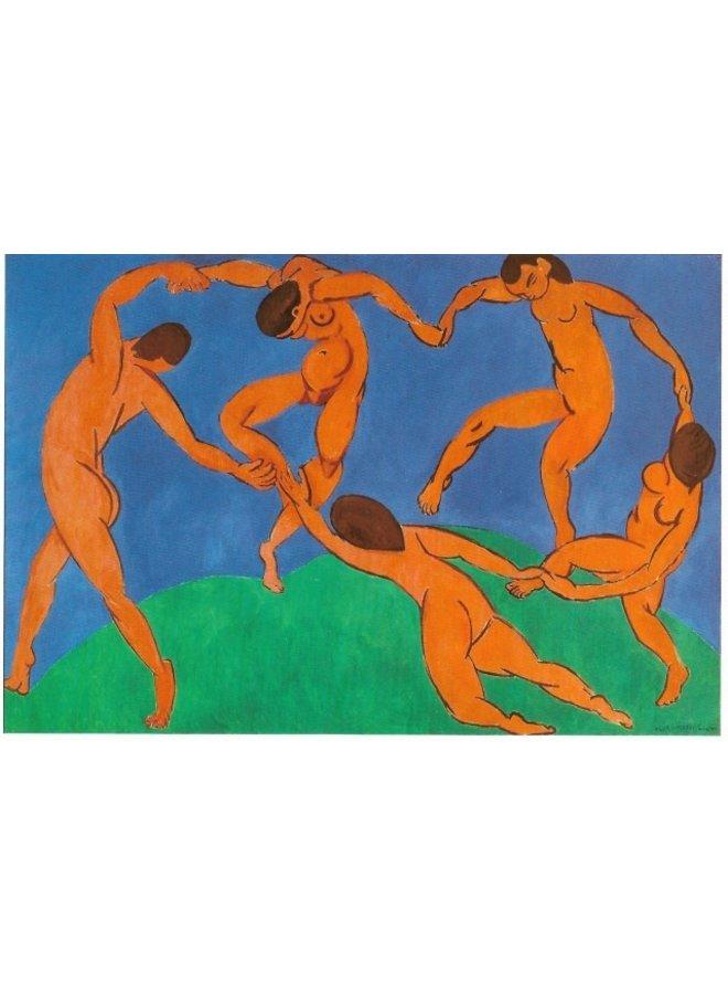 Dance II by Matisse  Artists Postcard