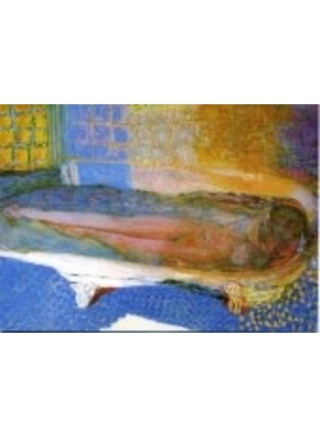 Nude in the Bath by Bonnard 180x 140mm Art Card