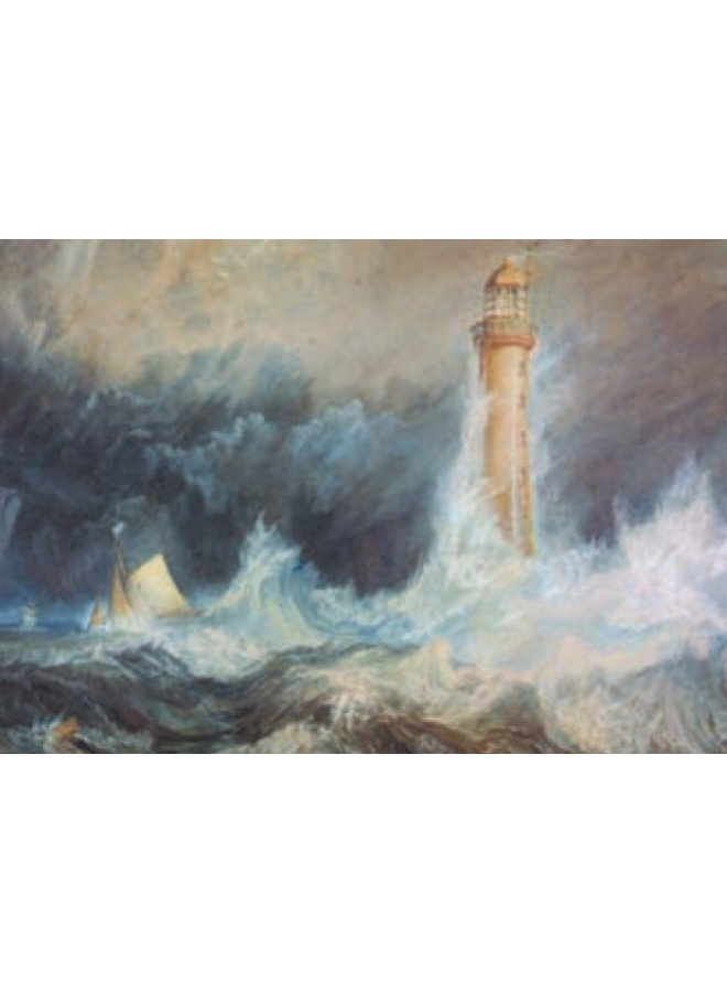The Bell Rock Lighthouse  by Turner 140 x 180mm card