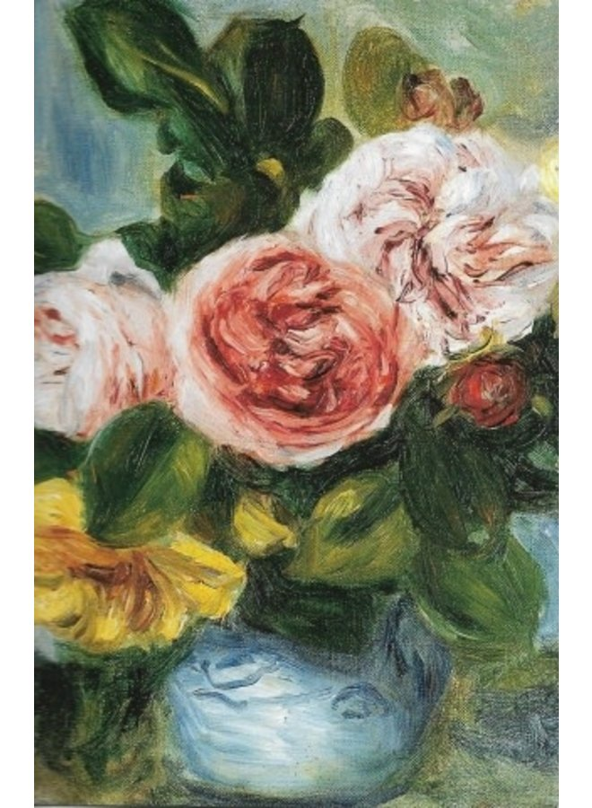 Roses in a Vase by Renoir 140 x 180mm card