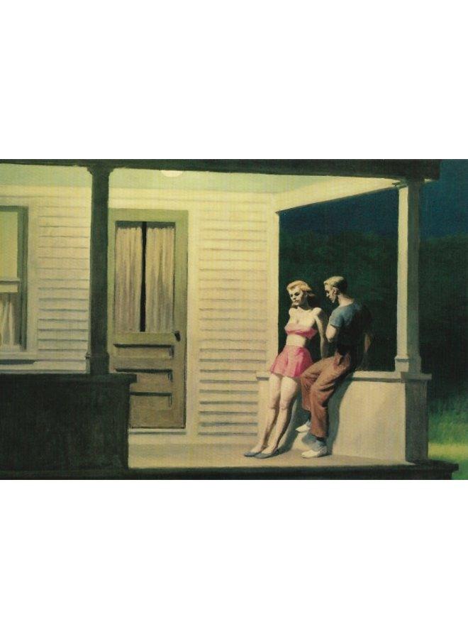 Summer Evening by Hopper 140 x 180mm card