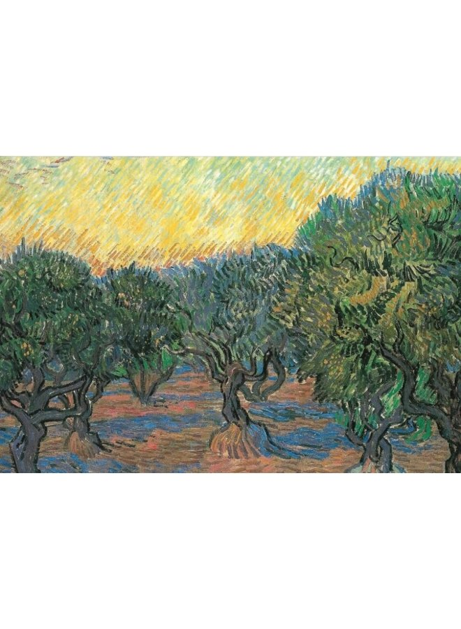 Oliver Orchard by van Gogh 140 x 180mm card