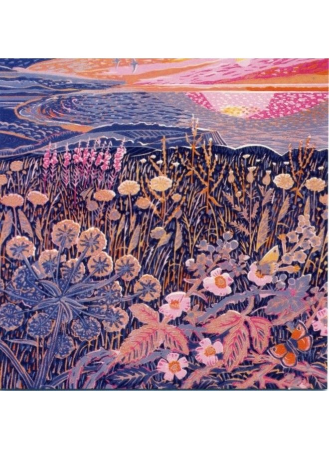 Midsummer Morning by Annie Soudain 140 x 140mm card