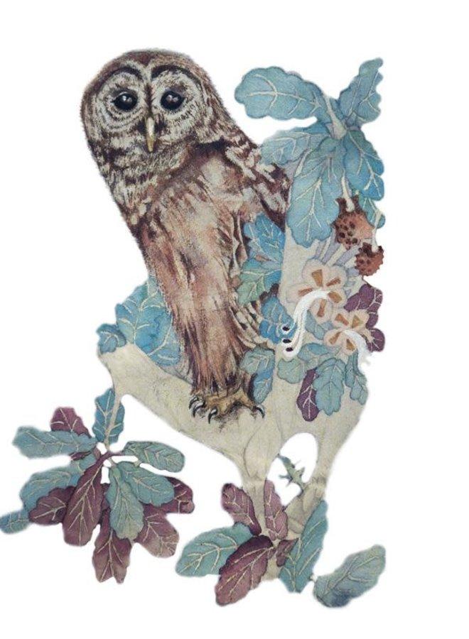 Hooting Owl card 23
