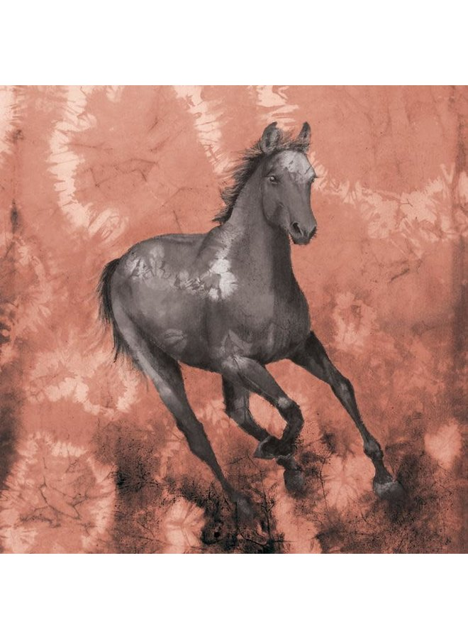 Galloping Horse square card 37